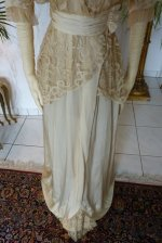 4 antique wedding gown