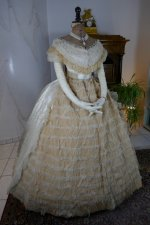 3 antique ball gown 1864
