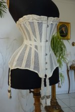 3 antique summer corset 1890