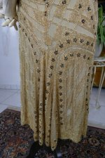 22 antique beaded flapper evening dress 1922