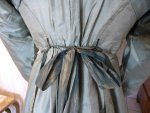 31 antique silk dress 1800