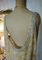 38 antique flapper dress 1920