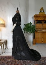 16 antique Drecoll dress 1906