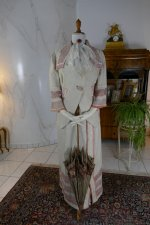 2 antique PLYM Walking dress 1912