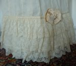 5 antique petticoat