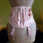 3 antique corset 1920
