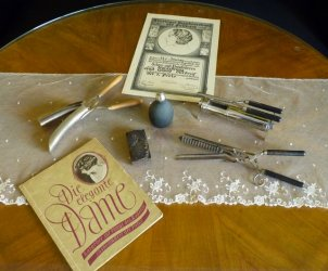 Hairdresser Utensils 1930