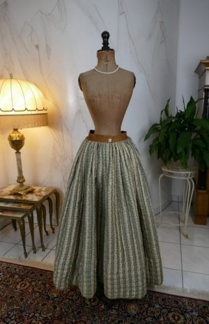 antique Biedermeier petticoat 1830