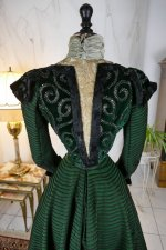 19 antique reception gown 1896