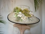 antique hat, antique summer hat, hat 1910, edwardian hat, chapeau ancien, antiek hoeden, summer 1910, antique dress, antique gown