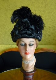 antique belle epoque hat 1905