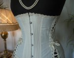 4a antique maternity corset 1910
