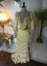 34 antique gown