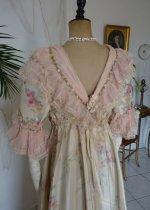 34 antique dress 1909