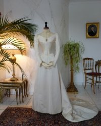 antique wedding dress 1894