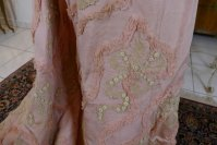 37 antique Rousset Paris society dress 1899