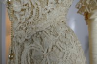 12 antique ALTMANN Battenburg lace dress 1904