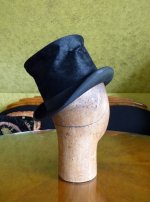 6 antique milliner wooden head