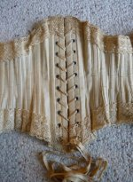 96 antique corset 1890