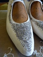 4 antique wedding shoes 1908