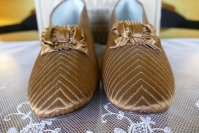 7 antique Boucicaut ball shoes 1890