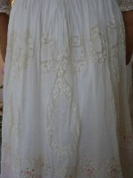 18a antique dress