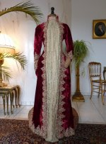 2 antique dress gown