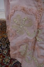 23 antique Rousset Paris society dress 1899