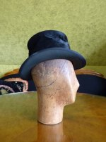 4 antique milliner wooden head