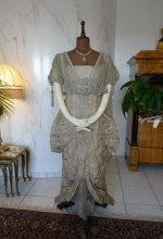 2 antique Maurice Mayer gown 1913