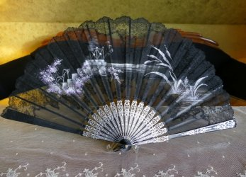 antique fan 1908