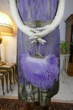 7 antique BABANI evening dress 1925