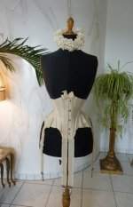 7 antique wedding corset 1885