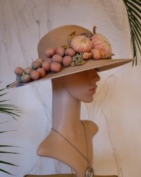 antique hat, antique sommer hat, sommer hat 1920, hat 1920, antique dress, antique gown, hat 20s, chapeau ancienB
