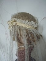 5 antique bridal cap veil