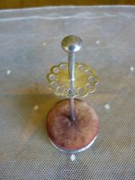 3 antique hat pin holder 1904