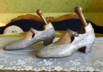 5 antique flapper shoes 1920
