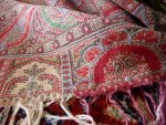 13a antique Paisley shawl 1860
