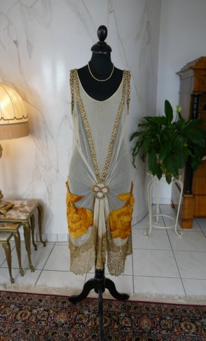 antique party dress 1924