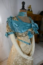 8 antique evening gown 1895