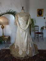 2 antique evening dress WORTH 1898