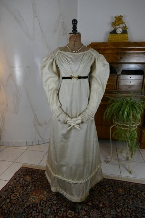 antique empire dress 1815