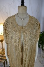 3 antique Drecoll Negligee 1912