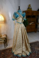 35 antique evening gown 1895
