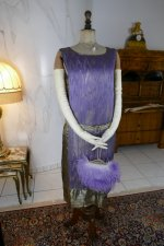 9 antique BABANI evening dress 1925