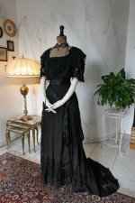 2 antique Drecoll dress 1906