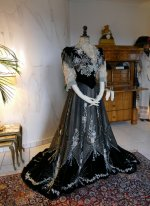 27 antique Gustave Beer gown 1906