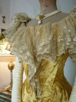 7 antique ball gown 1895