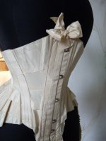 31 antique wedding corset 1885