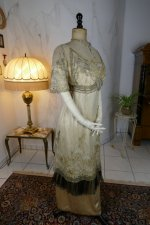 34antique evening dress 1912